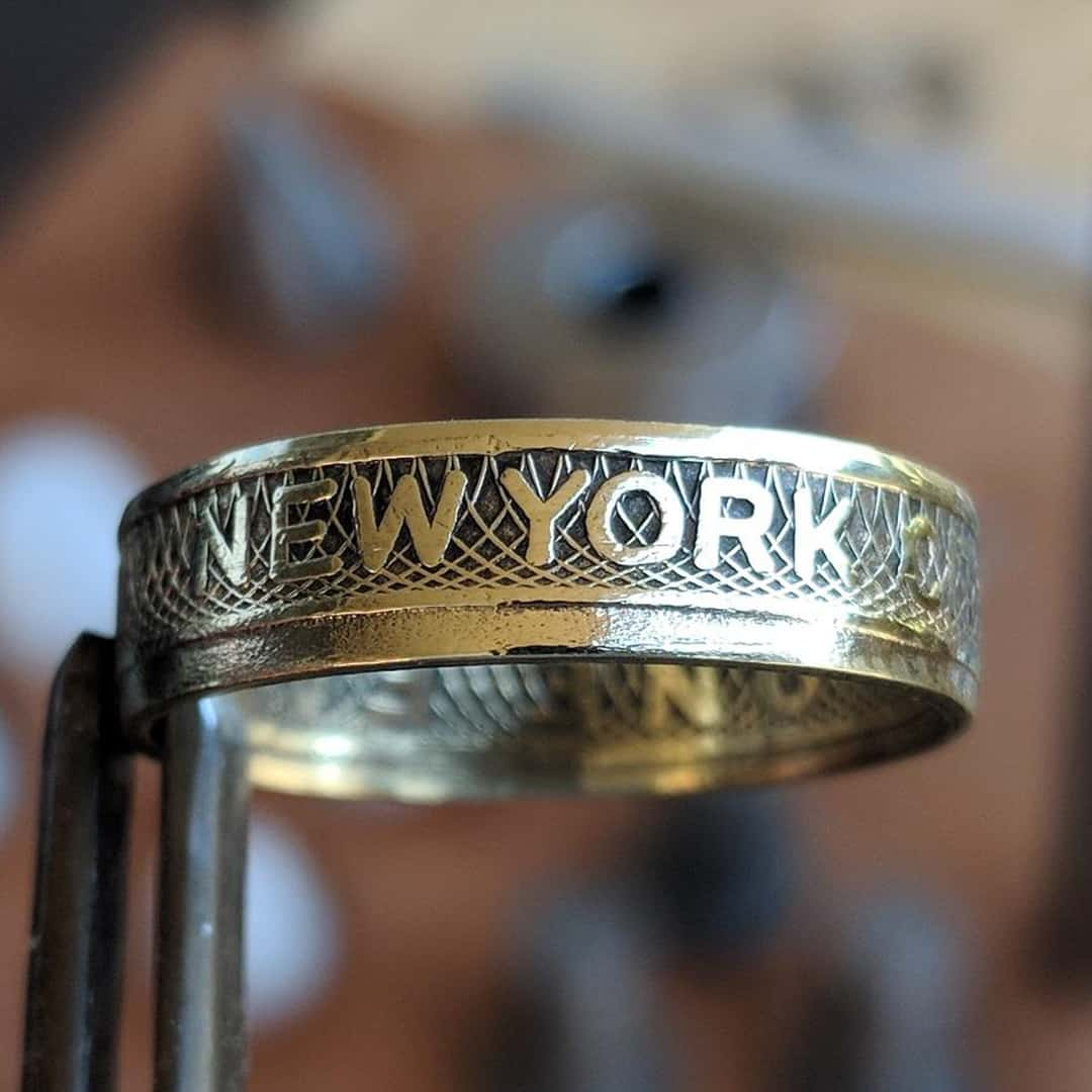 New York City Token Coin Ring