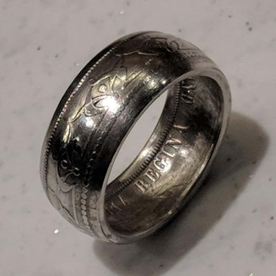 Newfoundland 50 Cent Coin Ring