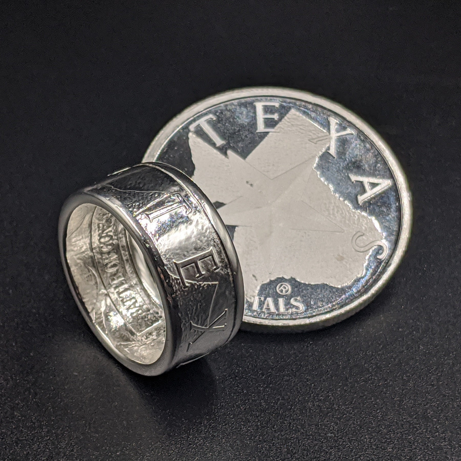 Texas Coin Ring