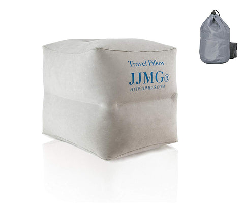 JJMG 2 Tiered Air Travel Leg Rest Pillow