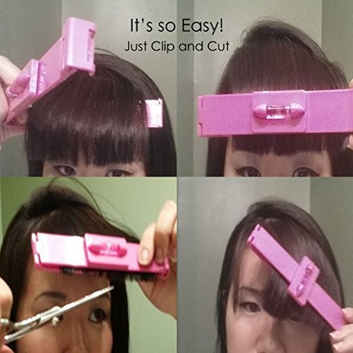DIY Hair Bang Cutting Trimming Tool