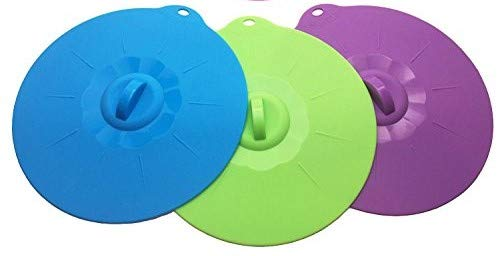 JJMG Silicone Bowl Lids (Set of 3)