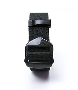 "JJMG Men's Security Friendly Real Carbon Fiber Buckle Black 1.5"" Belt"