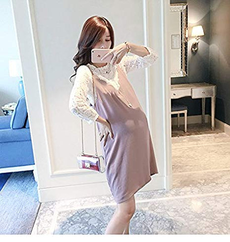 JJMG Maternity Chiffon Dress