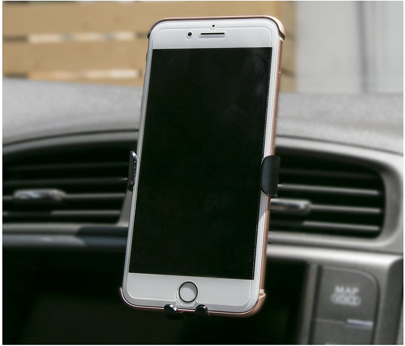 "Universal Car Phone Air Vent Mount Holder for iPhone, Samsung - Cellphone Car Cradle (4.0"" / 4.7"" / 5.5"" / 6.0"")"