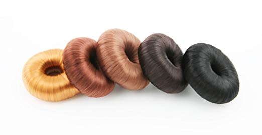 JJMG Hair Bun Maker Donut Ring (5 Pieces)