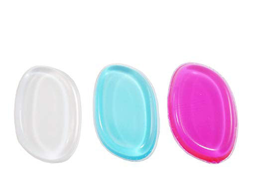 JJMG Clear Silicone Makeup Applicator Sponge (3 Colors)