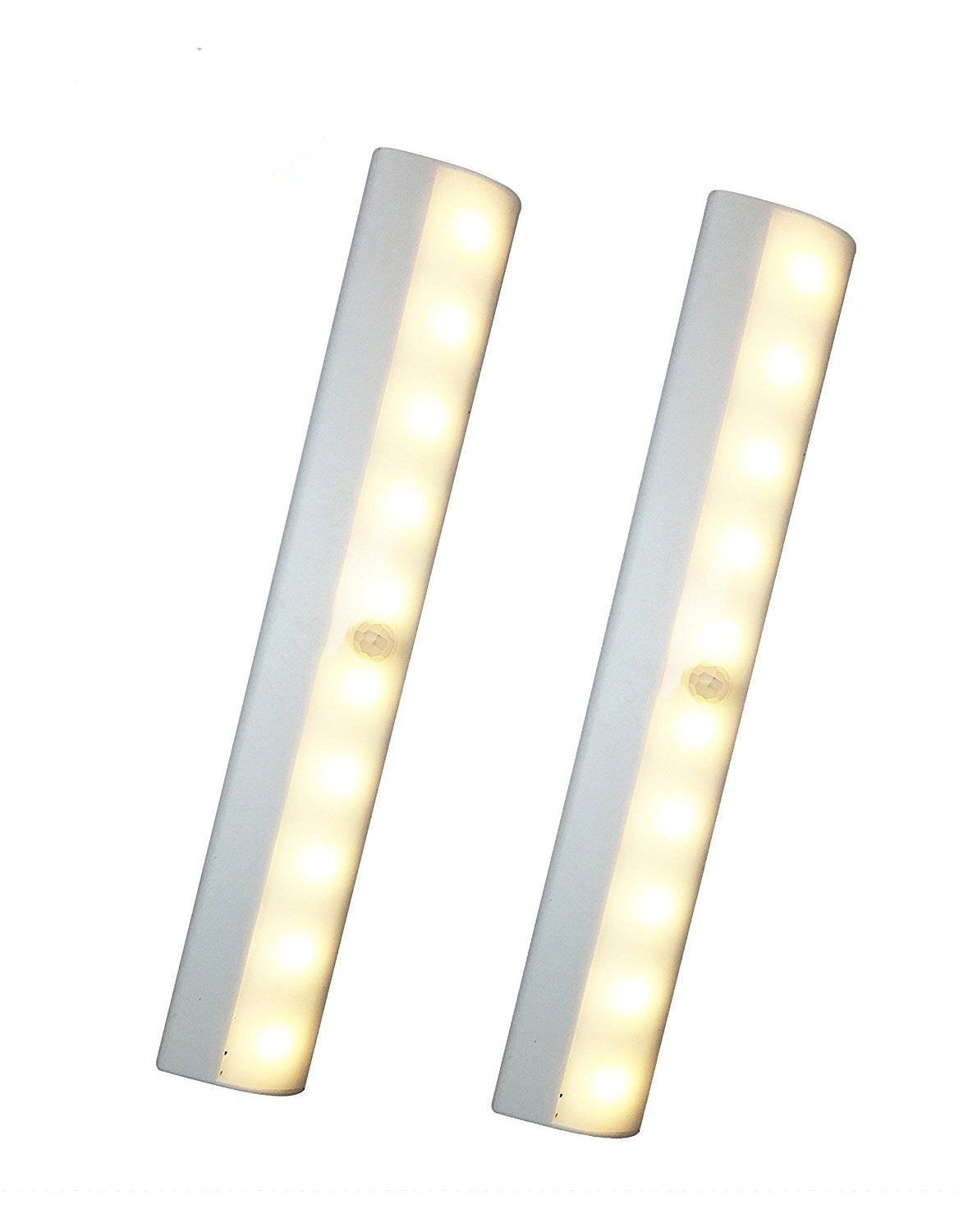 JJMG 10 LED Motion Sensing Closet Light (2-Pack)