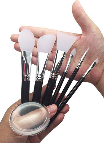 JJMG Silicone MakeUp Brush Set