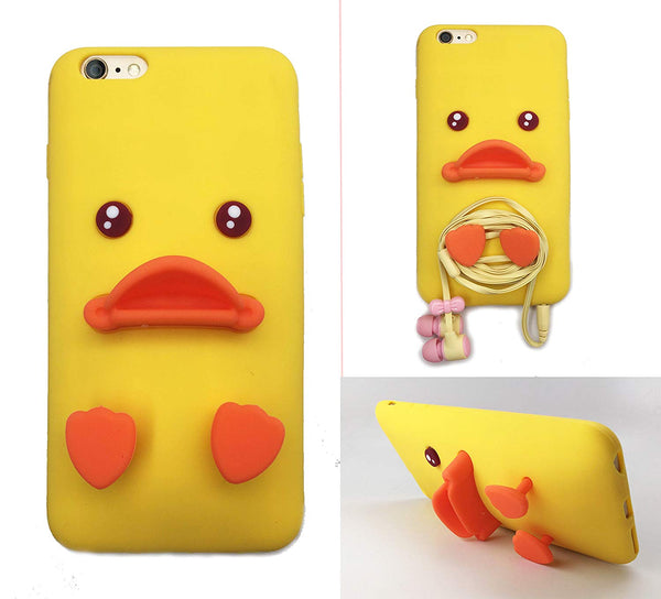 JJMG Yellow Duck Silicone iPhone Case