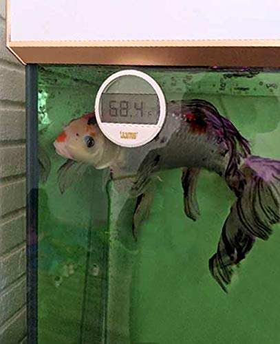 Fish Tank LCD Digital Aquarium Thermometer  (Fahrenheit Only)
