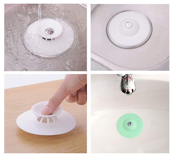 JJMG Universal Silicone Water Drain Stopper
