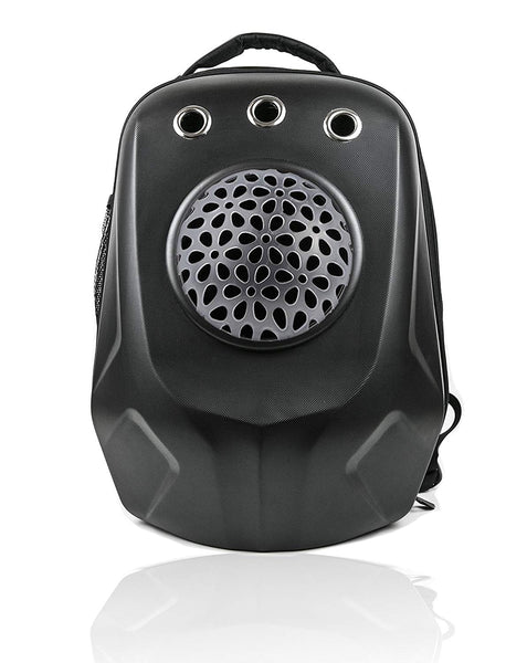 JJMG Capsule Space Bubble Backpack (Mesh Design Window Airline)