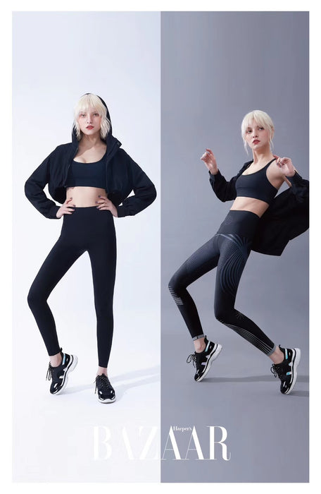 BAZAAR Women Sexy High Waist Fitness Yoga Pants