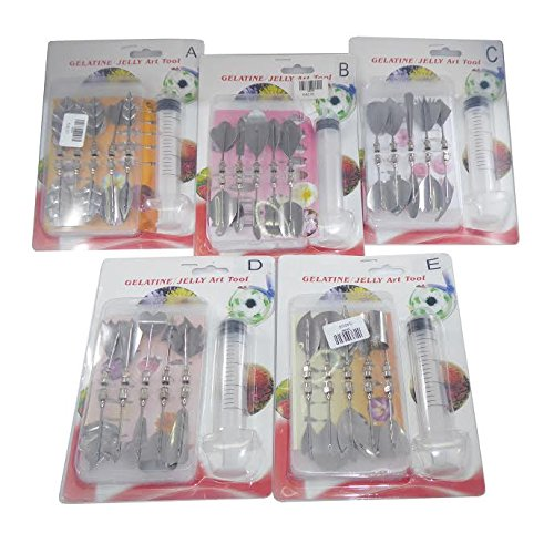 JMG 3D Jelly Cake Needle Tips (Pack of 5)