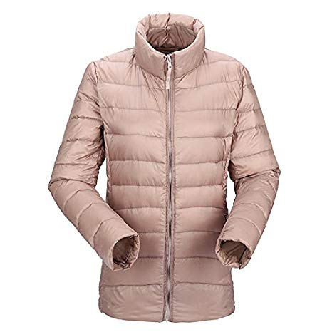 JJMG Packabe Ultra Light Weight Down Coat