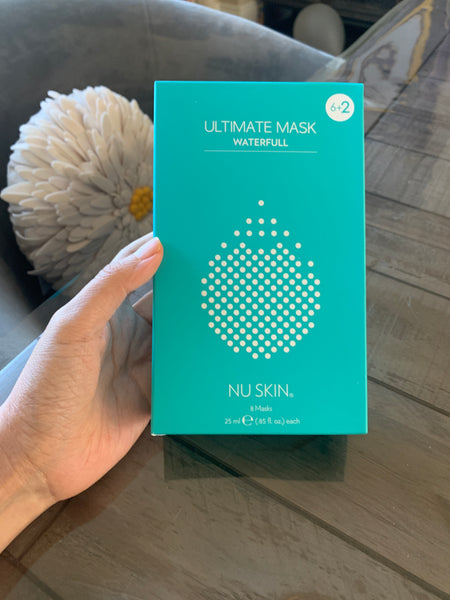 NU SKIN ultimate Mask WATERFULL 6+2