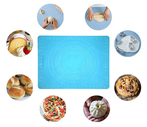 JJMG Non-Stick Rolling Silicone Rubber Baking Mat