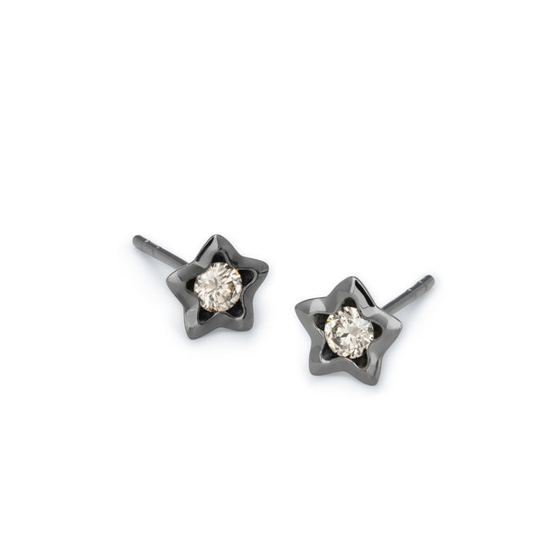 Penta Miele Earrings / Black