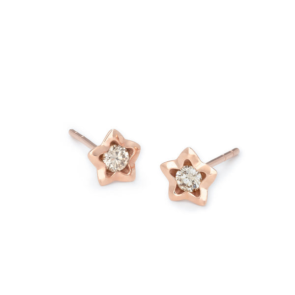 Penta Miele Earrings / Rose
