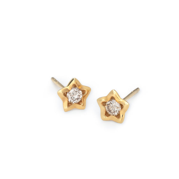 Penta Miele Earrings / Yellow