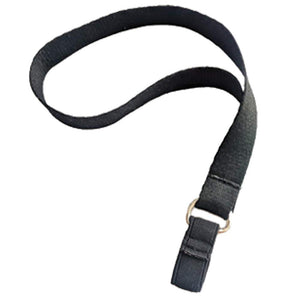 Black Nylon Wrist Strap for Canes and Walking Sticks