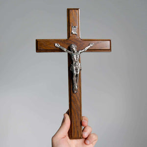 Wooden Wall Cross Crucifix for Home Decor