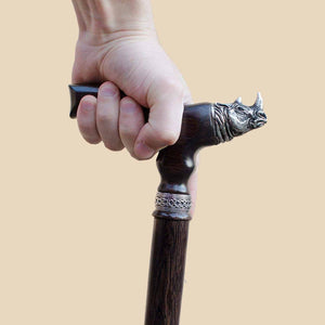 Rhino Walking Cane - Custom Length and Color