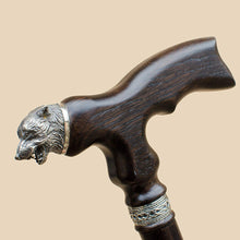 Unique Wolf Cane Stylish Walking Stick