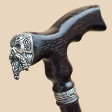 Celtic Skull Walking Cane for Men, Cool Canes