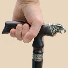 Celtic Raven Cane - Custom Length and Color