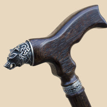 Bear Walking Cane - Custom Length and Color