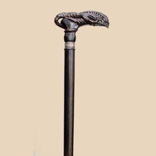 Alien Xenomorph - Hand Carved Walking Cane for Men