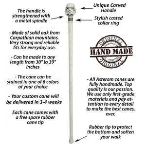 Designer ST Cane - Custom Length and Color