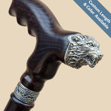 Angry Wolf Cane - Custom Length & Color