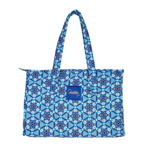 """Day Bag"" Bleu Flocons"