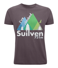 Load image into Gallery viewer, Classic Cut Jersey Men's T-Shirt - I've climbed Suilven