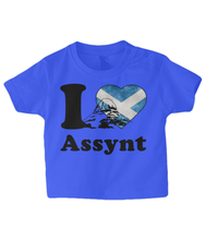 Load image into Gallery viewer, Baby Jersey Short Sleeve Tee - I love Assynt