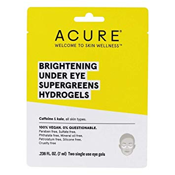 ACURE Brightening Under Eye Hydrogels | Every Sunday | Self Care Sunday