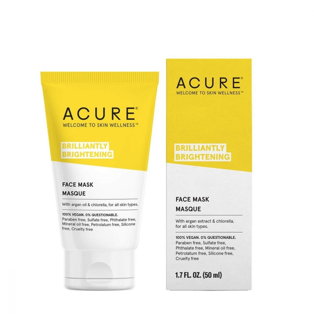 ACURE Brightening Face Mask | Every Sunday | Self Care Sunday