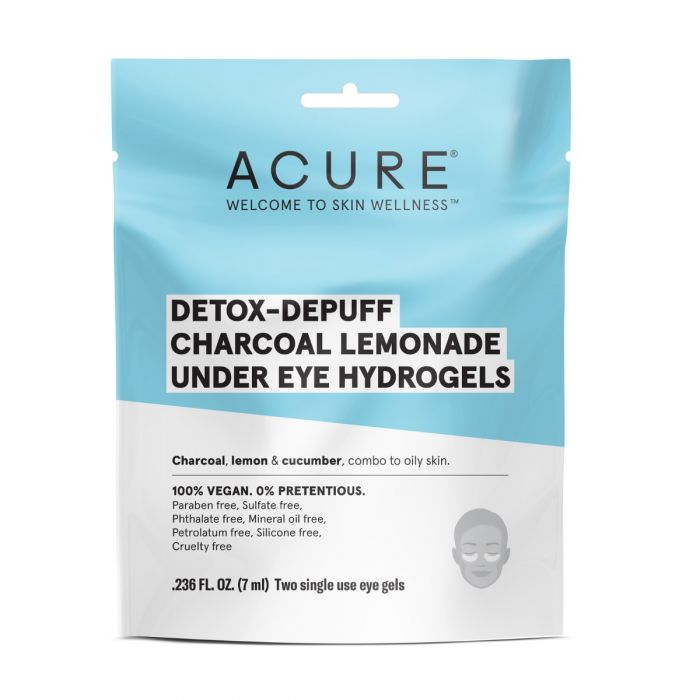 ACURE Detox-Depuff Under Eye Hydrogels | Every Sunday | Self Care Sunday