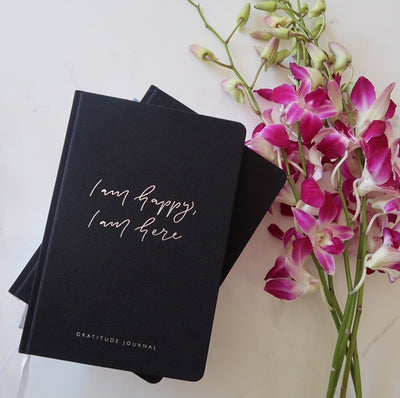 Gratitude Journal - Black-Journal-Every Sunday