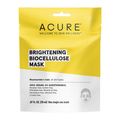 ACURE Brilliantly Brightening Biocellulose Mask-Every Sunday