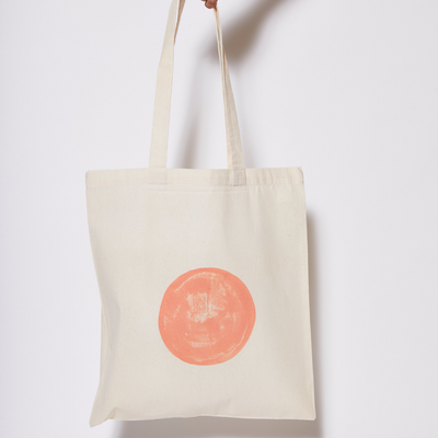 Reusable Calico Tote Bag - Lipstick eclipse-Every Sunday