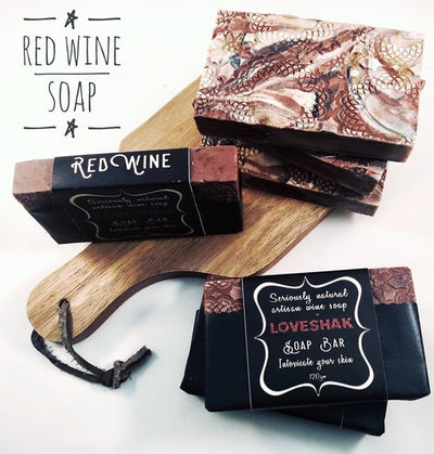 Red Wine Soap Bar-Soap-Every Sunday