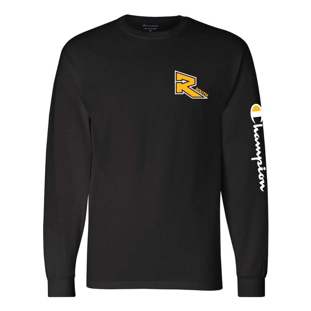 Rebels Athletics Champion® Long Sleeve T-Shirt - Black