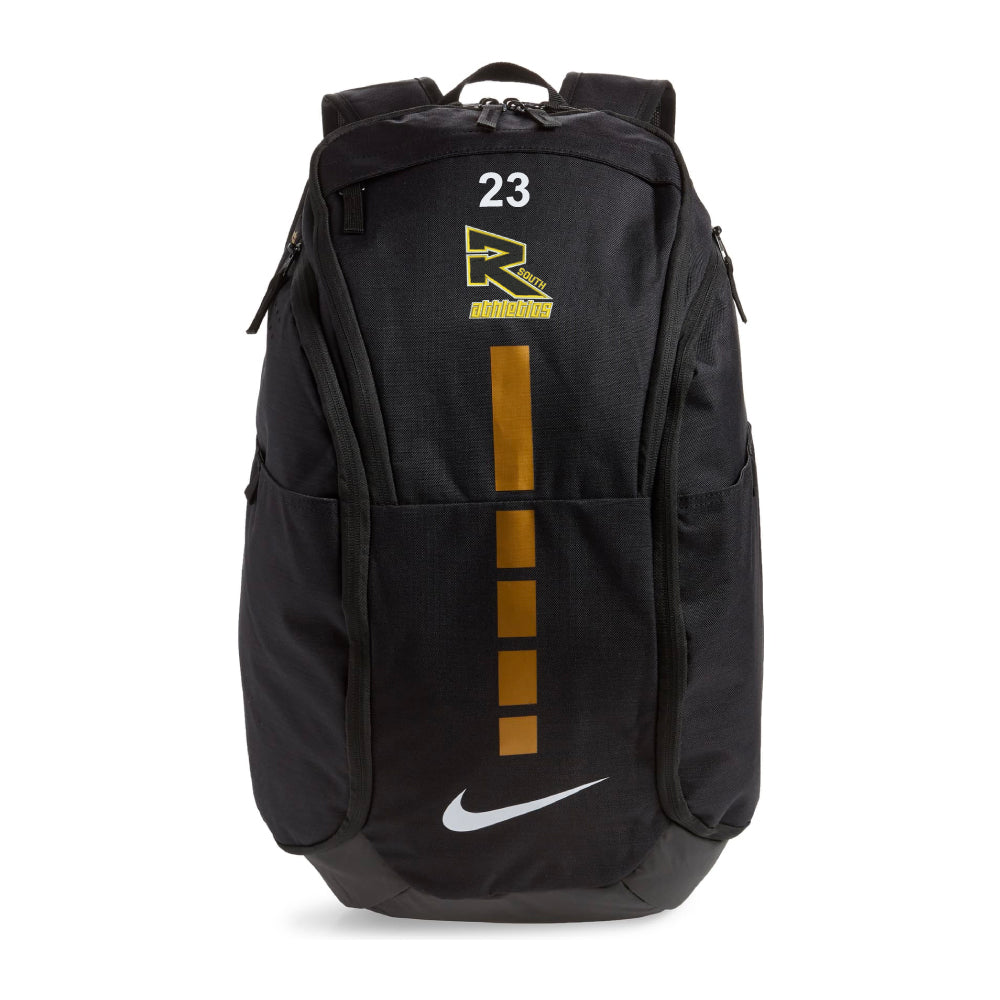 Rebels Athletics Nike® Hoops Elite Pro Backpack - Black/Gold