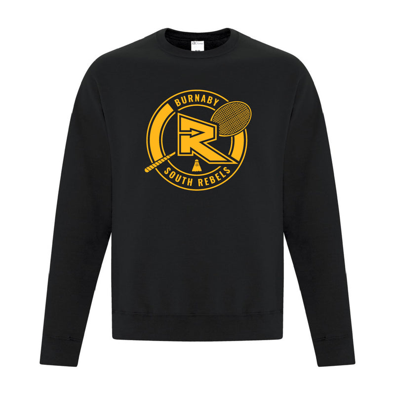 Rebels Badminton ATC™ Crewneck Sweatshirt - Black