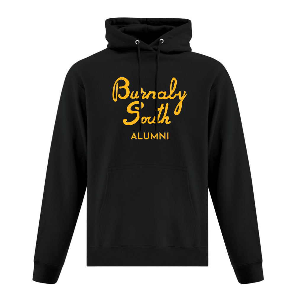 Rebels Alumni ATC™ Hoodie - Vintage Burnaby South Logo - Black