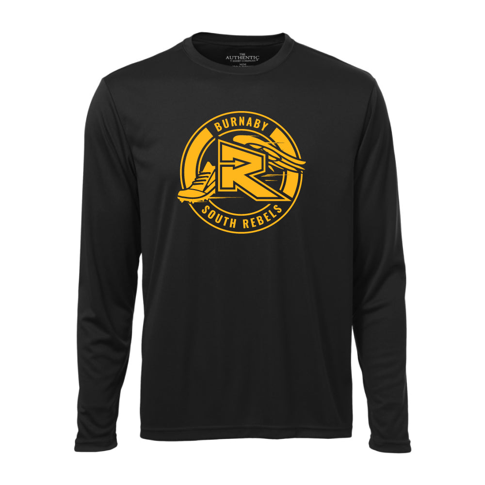 Rebels Cross Country ATC™ Long Sleeve Performance Shirt - Black